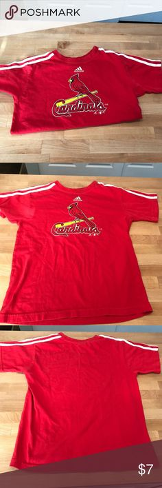 Cardinals boys tshirt This is in good used condition. Size 10/12 boys. Shirts & Tops Tees - Short Sleeve