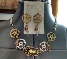 Steampunk necklace https://www.etsy.com/shop/Rags2RichesByR?ref=l2-shopheader-name