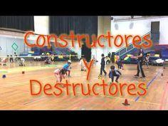 Constructores y Destructores. Juego Competitivo para quemar energías. - YouTube