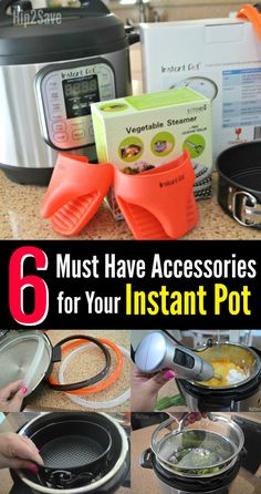 Here are six helpful accessories worth considering if you own an Instant Pot pressure cooker.