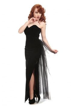 2bd439a11cc2f Collectif Plus Size Doris Party Maxi Dress Another beautiful velvet maxi  dress from Collectif! The stunning plus size Doris party dress is made from  a ...