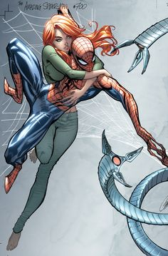 J Scott Campbell: Spider-Man