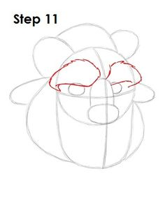 Learn how to draw the Beast from Walt Disney's Beauty and the Beast with this step-by-step tutorial and video. A new cartoon drawing tutorial is uploaded every week, so stay tooned! Cartoon Drawings Of People, Disney Drawings, Drawing People, Beauty And The Beast Drawing, Disney Beauty And The Beast, Disney Cartoon Characters, Disney Cartoons, Cartoon Drawing Tutorial, Sketch Inspiration