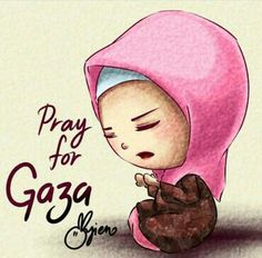 Pray for GAZA by ayien-chan on DeviantArt Beautiful Dua, Beautiful Names Of Allah, Religious Quotes, Islamic Quotes, Listen To Quran, Islamic Cartoon, Hijab Cartoon, Islamic Teachings, Islam Religion