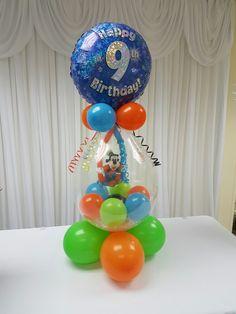 Balloon Arrangements, Balloon Decorations, Birthday Party Decorations, Baby Shower Balloons, Birthday Balloons, Columns Decor, Stuffed Balloons, Balloon Gift, Balloon Columns