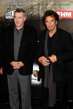 """Robert de Niro y Al Pacino, dos grandes del cine, presentan su nueva película en Madrid -  """" ASESINATO JUSTO """""""