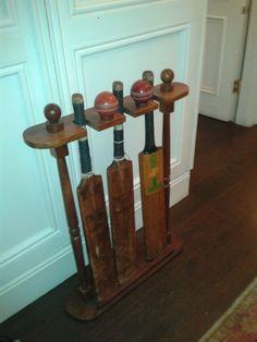 Vintage Cricket Bats & Balls