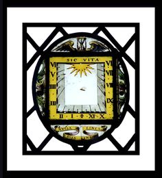 Stained Glass Sundials From Around the World