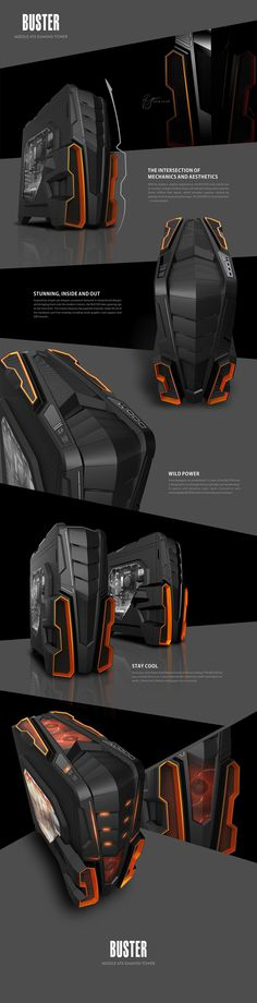 BUSTER - PC Case on Behance