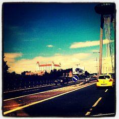 Bratislava v Bratislavský kraj Four Square, Times Square, Bratislava, Amazing Places, Old Town, The Good Place, Castle, June, River