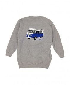 d3cb3ce6d5155 Island Snow Hawaii Men s · Men s Kailua Boys Crew Sweater - KB VW Bus   Color Options  White