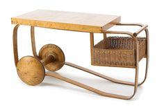 Alvar Aalto tea trolley.