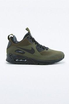 179a0278267 Nike - Baskets Air Max 90 Mid Winter kaki - Urban Outfitters