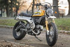 Racing Cafe Ducati Scrambler Offroad By MrMartini