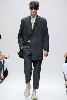 Margaret Howell - Spring 2015 Menswear - Look 1 of 27
