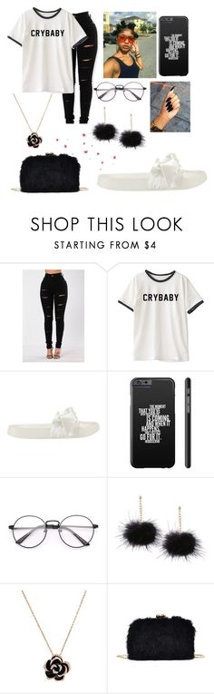 """Crybaby"" by bbg-miya ❤ liked on Polyvore featuring Puma"