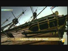 """Video sulla Battaglia della Manica tra Spagna e Inghilterra (1588 D.C.) tratto da un episodio della trasmissione """"Alantide""""-Youtube."""