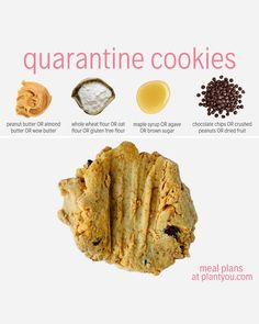 These quarantine cookies are just what you need to make this week or the weeks ahead! Simple and easy baking is just what you need to finish off your day. Check out more recipes like this by clicking our page. Gluten Free Cookie Recipes, Healthy Cookie Recipes, Healthy Cookies, Quick Recipes, Healthy Vegan Desserts, Vegan Treats, Health Desserts, Healthy Smoothies, Easy Peanut Butter Cookies