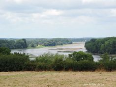 Stunning views of the Loire, Saint Florent le Vieil, Maine et Loire dept 49,