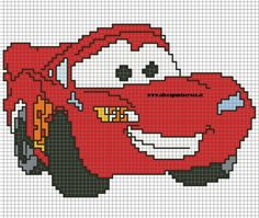 Discover thousands of images about Disney cars x-stitch Cross Stitch For Kids, Cross Stitch Baby, Cross Stitch Charts, Cross Stitch Designs, Cross Stitch Patterns, Loom Patterns, Pixel Crochet Blanket, Baby Blanket Crochet, Crochet Baby