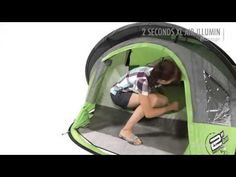 For just a few days camping- Quechua - Tente 2 Seconds XL Air Illumin 2 places - Montage