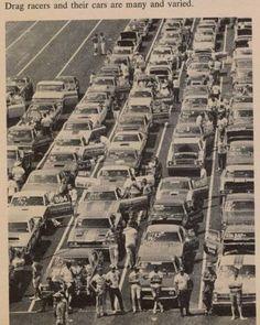 Vintage Drag Racing - The Staging Lanes