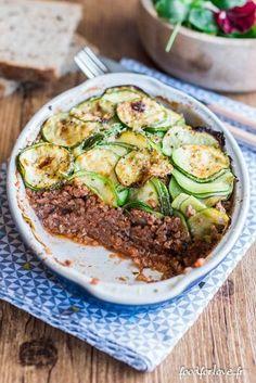 Parmentier de Courgettes, au Quinoa et au Bœuf