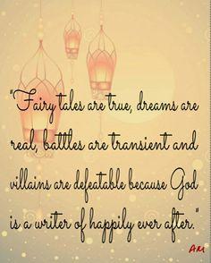 God is my writer