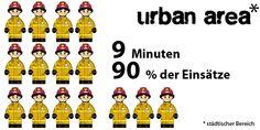 Mit vier Mann zum Gebäudebrand, Zielvorgaben für die Feuerwehr in den USA