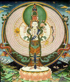 1000 hands and 1000 eyes Avalokiteshvara