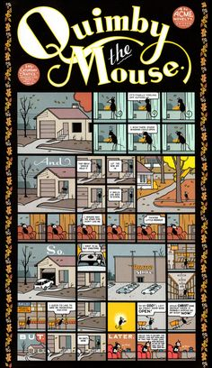 Quimby the Mouse by Chris Ware