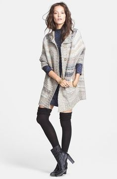 Free People 'Starlight Shadow' Poncho available at #Nordstrom