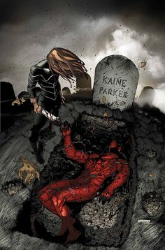 The book everyone is talking about! Kaine goes from hunter to hunted as the daughter of Kraven The Hunter takes on the Scarlet Spider! From the pages of Spider-Island, Madame Web crashes into Kaine's life – with dark visions of his road ahead! Comic Book Covers, Comic Books Art, Comic Art, Book Art, Marvel Heroes, Marvel Characters, Marvel Art, Marvel Universe, Scarlet Spider Kaine