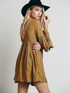 Free People Free Falling Tapestry Print Dress