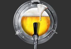 Beer Porthole  Artwork