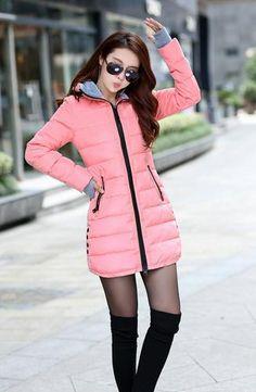 43ff30903bac0 Wadded Jacket Women Winter Jacket Down Cotton Jacket Slim Parkas Ladies Coat  Plus Size