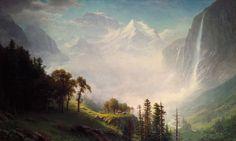 Majesty of the Mountains - Albert Bierstadt