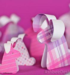 DIY easy paper droopy ear bunnies - with template // Egyszerű papír ( lógó fülű… Spring Crafts For Kids, Diy For Kids, Hoppy Easter, Easter Bunny, Easter Eggs, Paper Flower Wreaths, Preschool Crafts, 3 D, Christmas Crafts