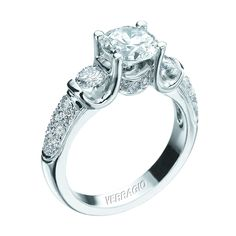 Platinum Verragio Clico 0125r Engagement Ring Find This Pin And More On Preferred Jewelers International Wedding Day Diamonds Eden Prairie Mn