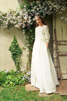 Wedding Dress Styles, Bridal Dresses, Nice Dresses, Flower Girl Dresses, Bridal Style, Marie, Wedding Hairstyles, Dream Wedding, Wedding Stuff