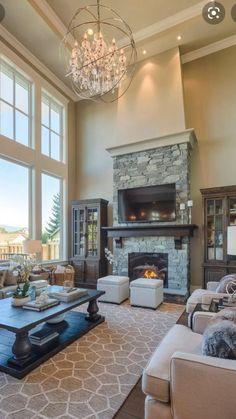 Design Living Room, Family Room Design, Home Living Room, Cottage Living, Cozy Living, Apartment Living, Cheap Apartment, Living Room Colors, Coastal Living