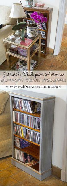 J'ai testé la Chalk Paint Action sur un support verni moderne | www.10mainstreet.fr