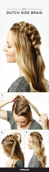 New Braids With Weave Easy 56 Ideas # Braids easy short hair # Braids easy side Goddess Hairstyles, Side Hairstyles, Braided Hairstyles For Wedding, Weave Hairstyles, Black Hairstyles, Short Hair Styles Easy, Medium Hair Styles, Anti Aging, Braids With Weave