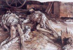 Drei gefallene Soldaten Adolph von Menzel