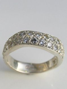 handmade engagement rings,white gold,jewellery gallery Christchurch | Debra Fallowfield
