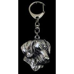 Keyring made of silver hallmark 925