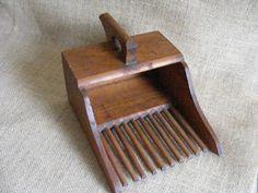 Vintage Wooden Cranberry Scoop