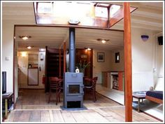 interior houseboat