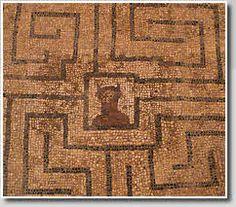 Roman Labyrinth, Conimbriga, Portugal