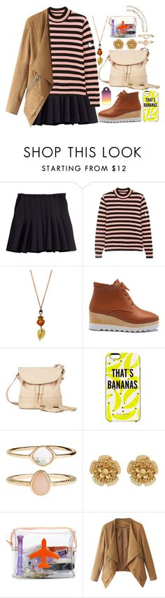 """The Winter Is Coming ♥"" by shyanimallover5 ❤ liked on Polyvore featuring H&M, Shrimps, See by Chloé, Kate Spade, Accessorize, Miriam Haskell and Emma Lomax"